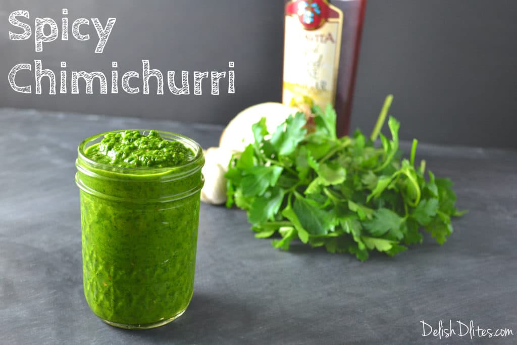 Spicy Chimichurri Sauce | Delish D'Lites