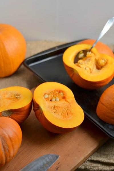 Homemade Pumpkin Puree | Delish D'Lites
