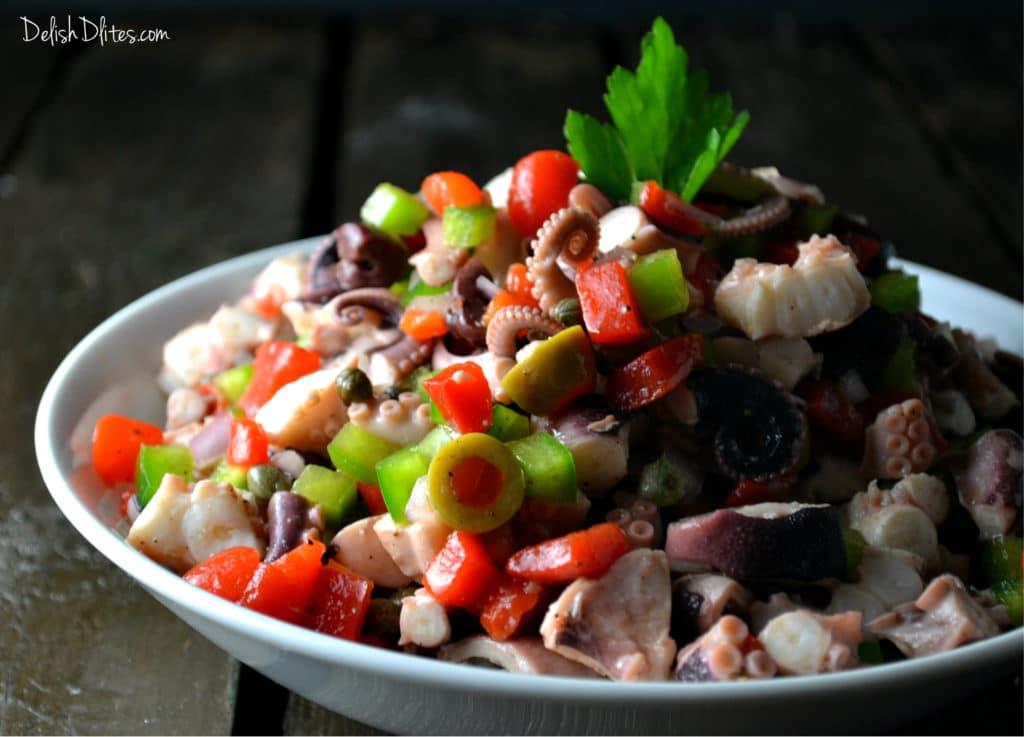 Ensalada de Pulpo (Octopus Salad) | Delish D'Lites