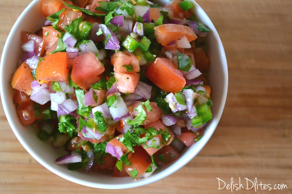 Pico De Gallo Delish D Lites