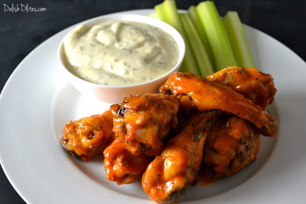 Oven Fried Buffalo Wings | Delish D'Lites