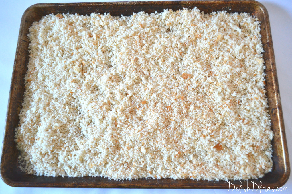 Make Your Own Panko | Delish D'Lites
