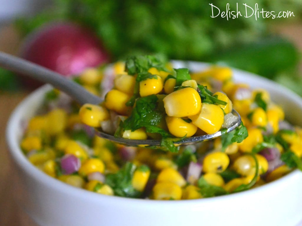 Copycat Recipe: Chipole Corn Salsa | Delish D'Lites