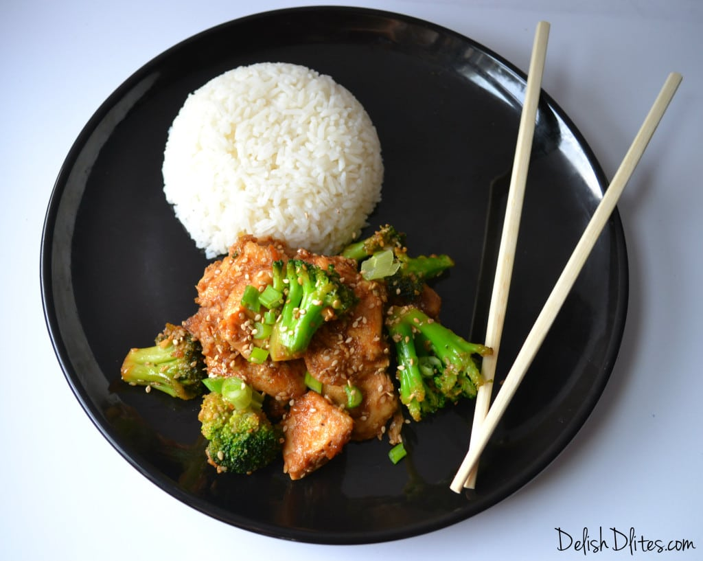 Guilt Free Sasame Chicken | Delish D'Lites