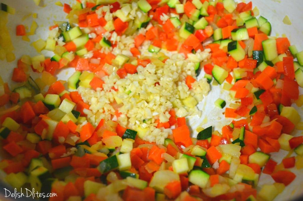 Chunky Garden Style Marinara Sauce | Delish D'Lites