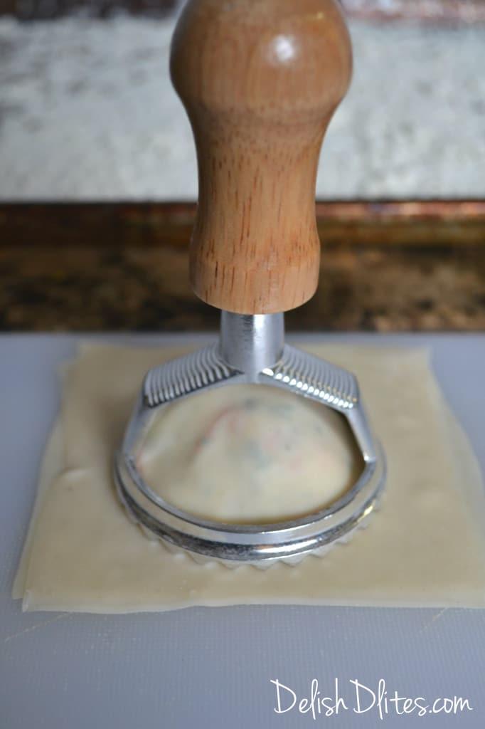 Shrimp Scampi Ravioli | Delish D'Lites