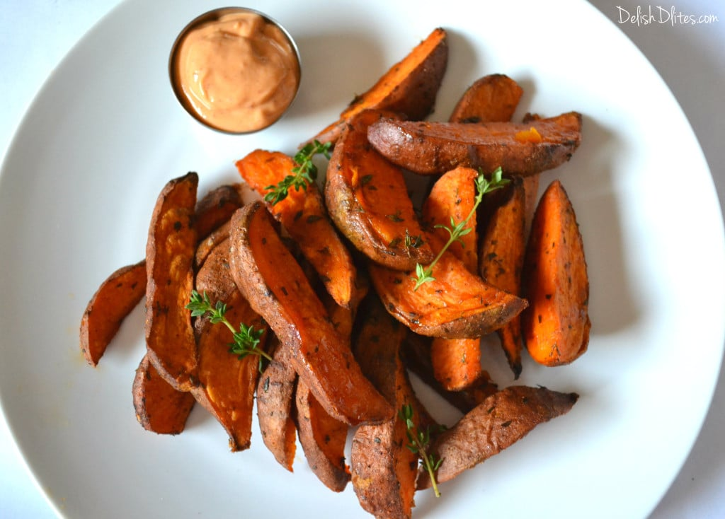 Cajun Spiced Sweet Potato Wedges Delish D Lites