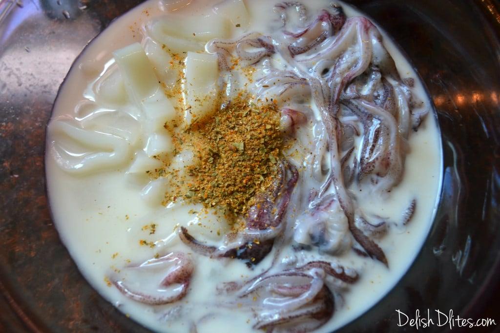 Fried Calamari | Delish D'Lites