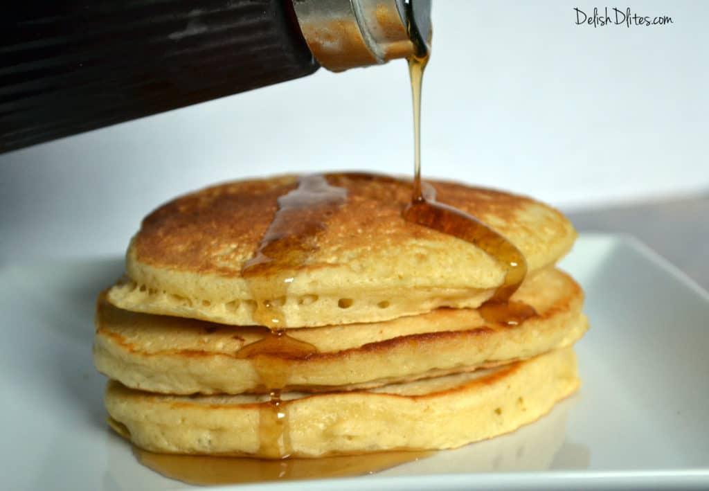 Easy Homemade Pancakes | Delish D'Lites