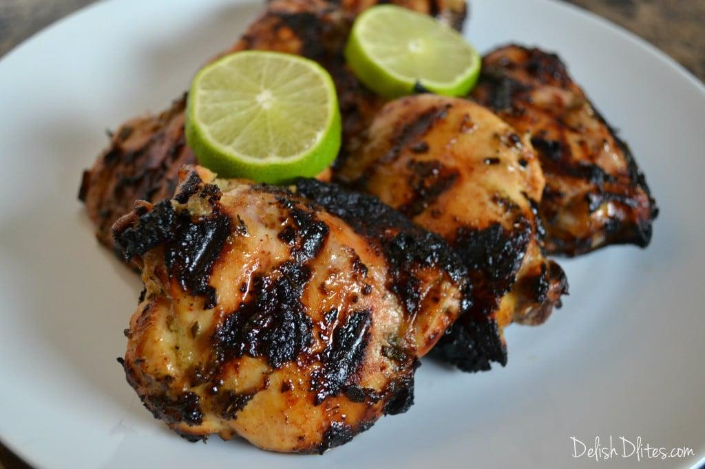 Honey Lime Grilled Chicken | Delish D'Lites