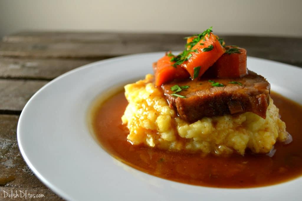 Slow Cooker Pot Roast | Delish D'Lites