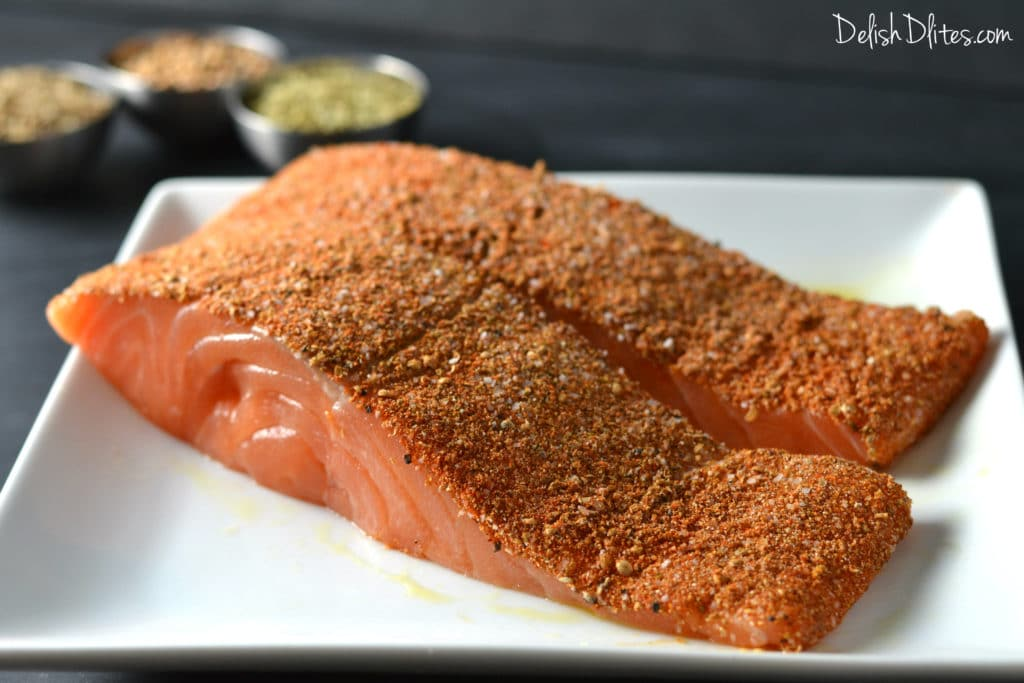 Spice Crusted Salmon | Delish D'Lites