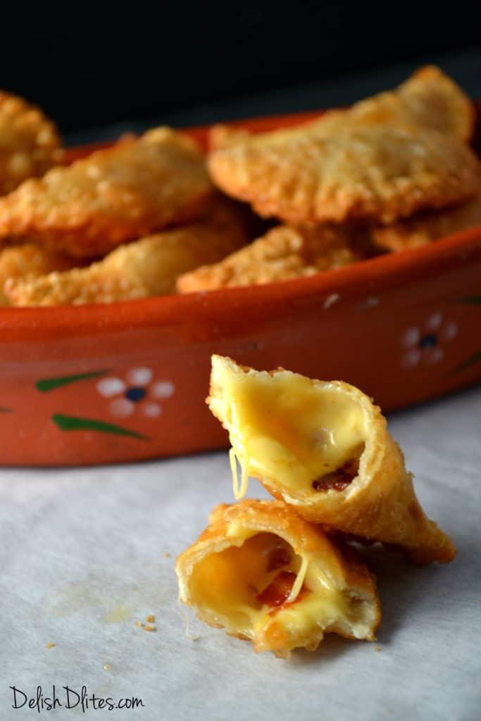 Bacon & Cheese Empanadas | Delish D'Lites