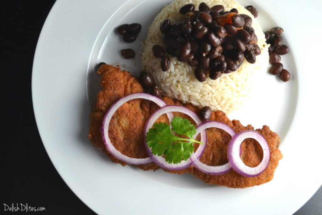 Bistec Empanizado (Cuban Breaded Steak) | Delish D'Lites