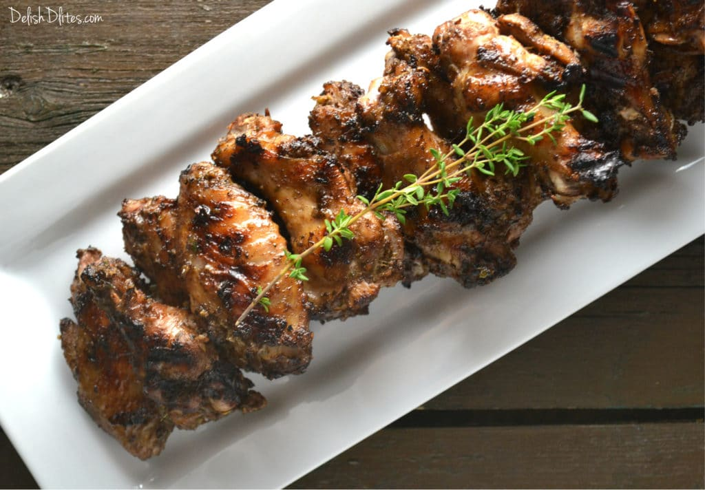 Caribbean Jerk Chicken Wings | Delish D'Lites