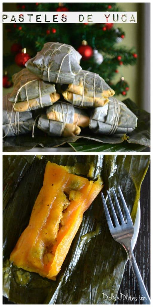 Puerto Rican Pasteles De Yuca Delish D Lites