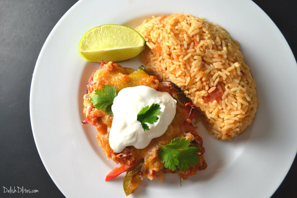 Easy Mexican Salsa Chicken | Delish D'Lites
