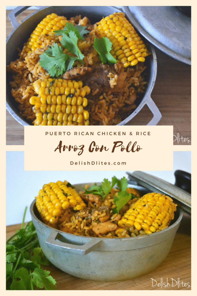 Arroz Con Pollo | Delish D'Lites