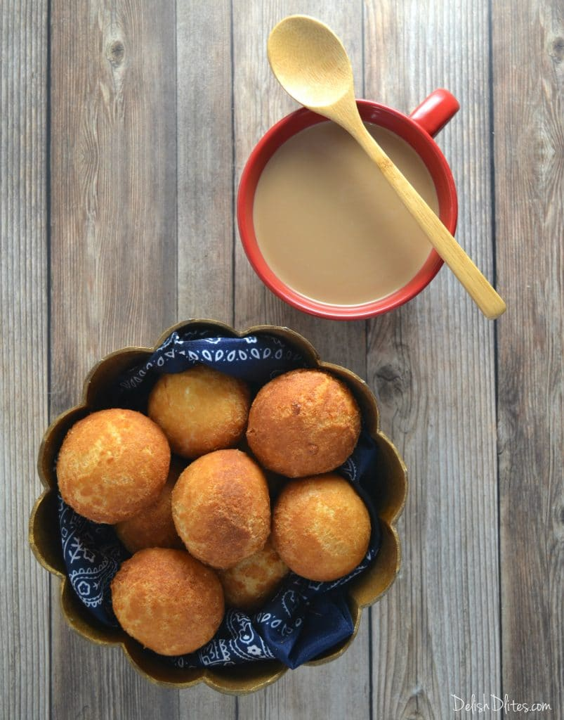 Colombian Buñuelos | Delish D'Lites