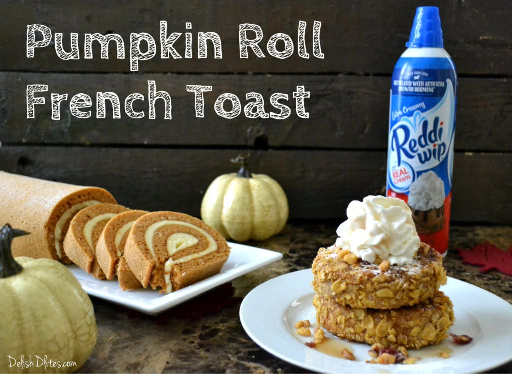 Pumpkin Roll French Toast | Delish D'Lites