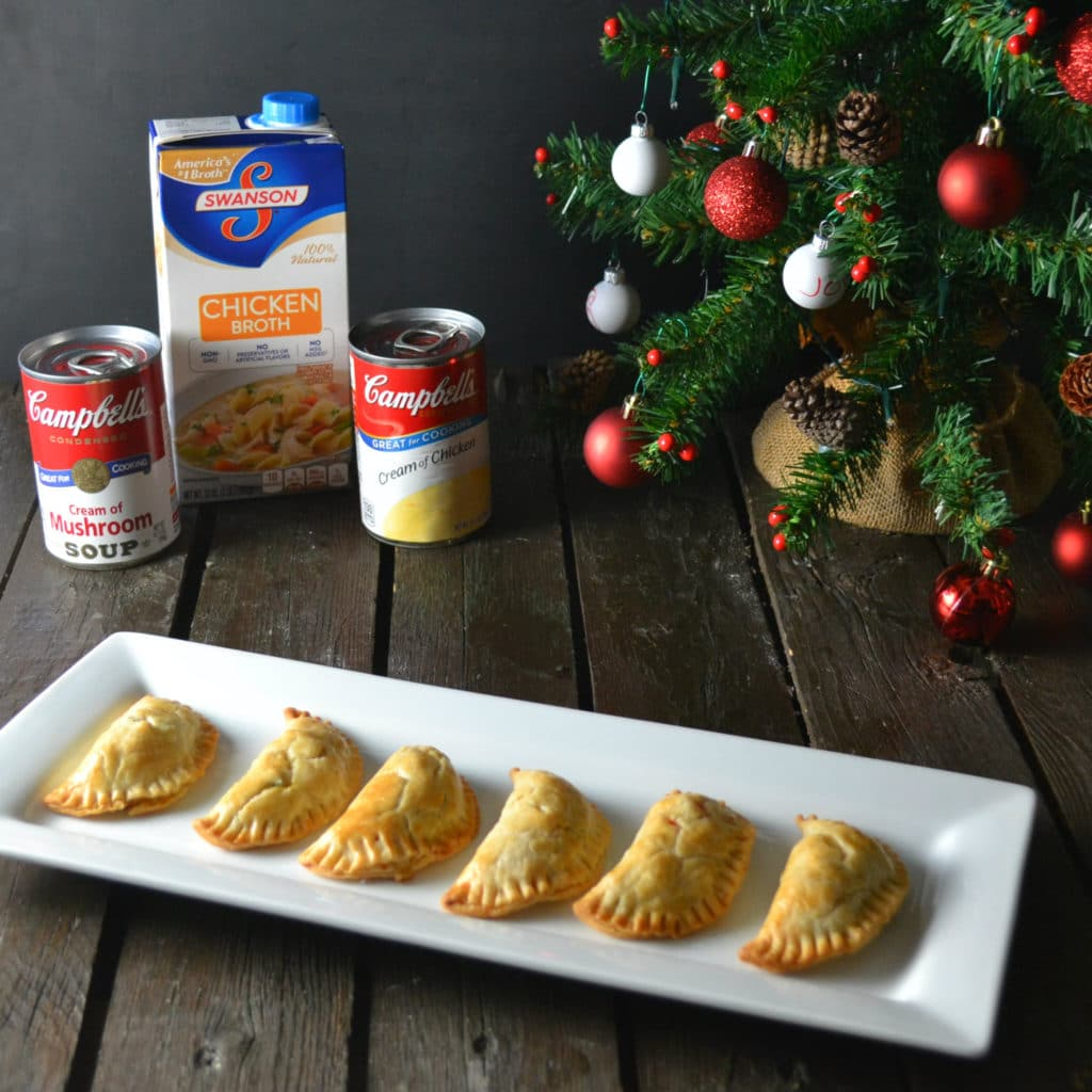 Chicken Pot Pie Empanadas | Delish D'Lites