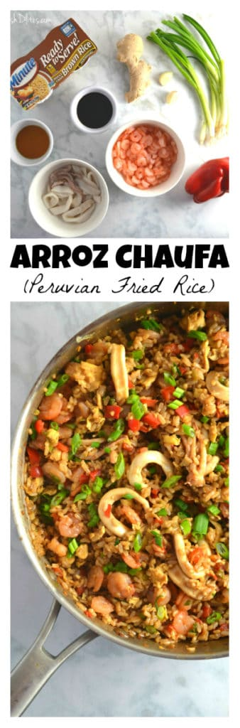 Arroz Chaufa (Peruvian Fried Rice) | Delish D'Lites