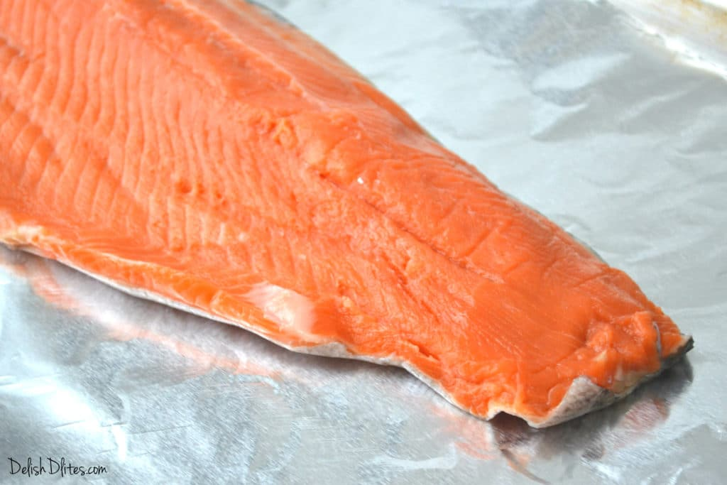 Garlic Butter Baked Steelhead Trout | Delish D'Lites