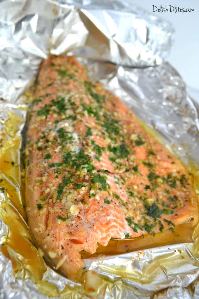 how to cook trout in foil in the oven