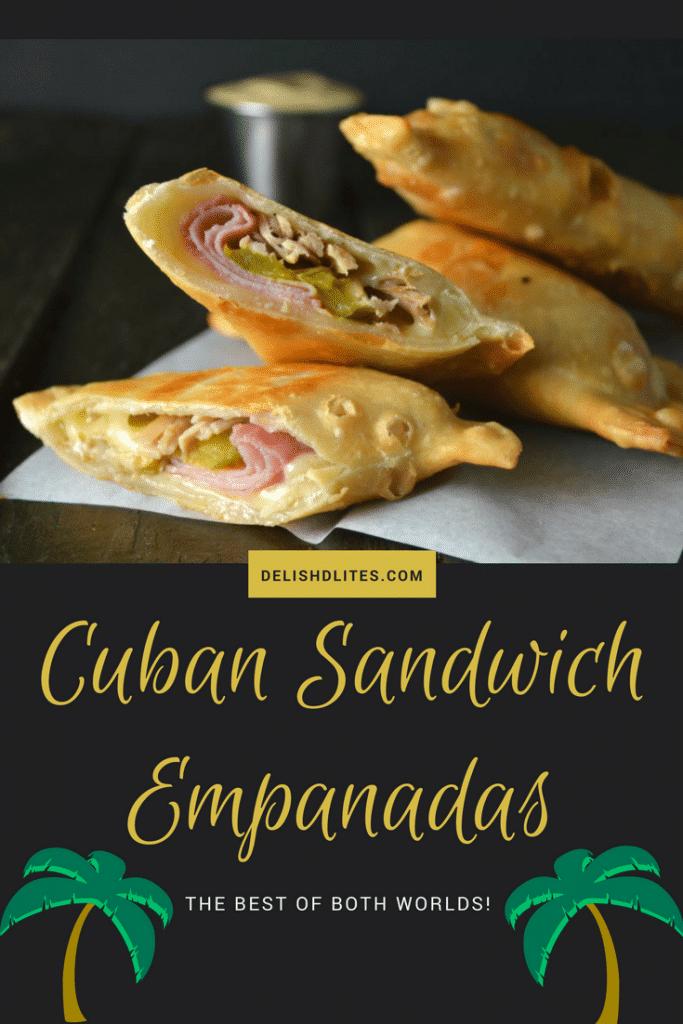 Cuban Sandwich Empanadas | Delish D'Lites
